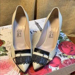 Salvatore Ferragamo Heels, good condition! Size 11
